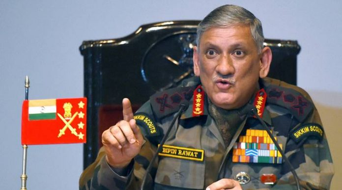 General Rawat on Terror activity