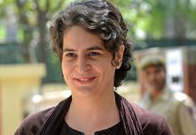 priyanka-gandhi-one-line-message