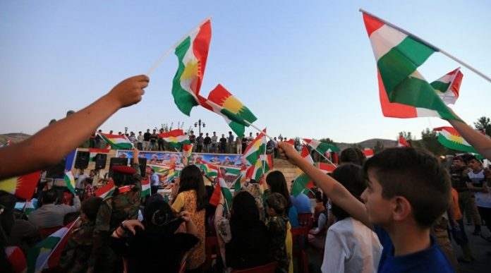Baghdad says it won't tolerate '2nd Israel' as 1,000s of Iraqi Kurds hold independence rally
