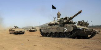 israeli-tank-targets-syrian-military-post-golan-heights
