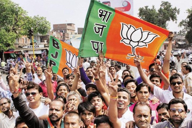 bjp-poised-shine-civic-polls-congress-loses-amethi