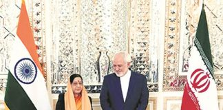 sushma-swaraj-makes-stopover-tehran-discusses-bilateral-issues