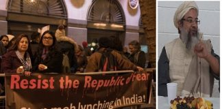 uk-indian-diaspora-protesting-hindutva-freezing-cold-fans-mahmood-madani-busy-evening-dinner