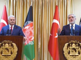turkish-pm-visits-kabul-and-calls-on-taliban-to-join-peace-talks