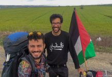 swedish-walktopalestine-biggest-challenge-solitude