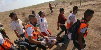 13-year-old-palestinian-killed-300-injured-14th-great-march-return-protest