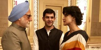 the-accidental-prime-minister-anupam-kher-introduces-aahana-kumra-as-priyanka-gandhi-and-arjun-mathur-as-rahul-gandhi