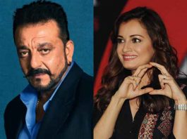 dia-mirza-gifts-mother-india-poster-sanjay-dutt-worth-rs-145000