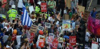 demonstrations-streets-london-trumps-visit